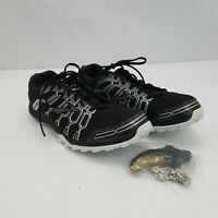 Brooks Mach X Track & Field Shoes 8M Womens Black Sneakers Spikes Running