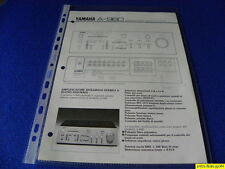 Yamaha A-960 Original  Reference Guide New ITALIANO  Language Italian