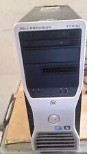 Dell Precision T3500 Intel E5630 Xeon Quad 2.53GHZ/ 8GB RAM, 500GB HDD TOWER