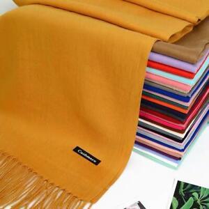 New Women Cashmere Shawl Scarf Winter Wrap scarves Soft Large Luxury Ladies