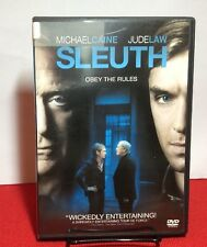 Sleuth (DVD, 2008)Free Shipping - Michael Caine, Jude Law
