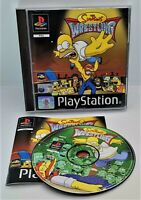 The Simpsons Wrestling Video Game for Sony PlayStation PS1 PAL TESTED