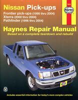 Nissan Navara, Xterra & Pathfinder D22 1996-2004 Repair Manual