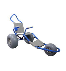 Sand Rider Beach Wheelchair- Metallic Blue