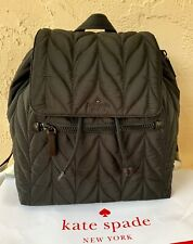KATE SPADE Ellie Large Flap Quilted Nylon Backpack - NWT
