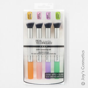 "1 REAL TECHNIQUES Color Correcting Set Makeup Brush ""RT-1706"" *Joy's cosmetics*"