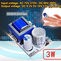 AC-DC 110V 220V to 4.2V 5V 10V 12V 3W Step Down Module Isolated Switch Converter
