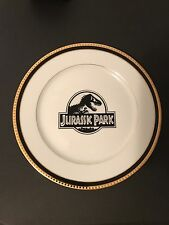 "Jurassic Park Authentic Tiffany & Co. Plate Prop Last 3 Of The 10"" Plates"