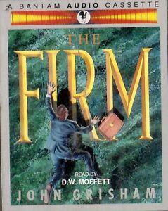 THE FIRM -John Grisham- 2 x Audio BOOK Cassettes-NEW -Never played -D.W. Moffett