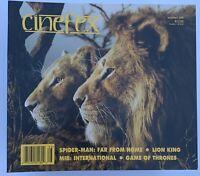 CINEFEX MAGAZINE - 166 - THE LION KING, SPIDER-MAN, MIB, GAME OF THRONES NEW
