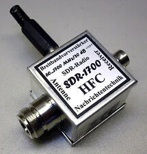 SDR-1700 Breitbandvorverstärker für SDR-Radio 60...1700 MHz / 20 dB