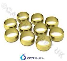 15mm laiton olive pour GAZ conduite d'eau PLOMBERIE Pièces détachées x 10