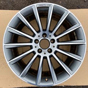 Mercedes Benz CLS W218 AMG Rear Single Alloy Wheel A2184011200 9.5Jx19H2 ET48