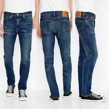 Levis 510 jeans Skinny fit Slim elasticizzati W 29 30 31 32 38 Pantaloni Levi's