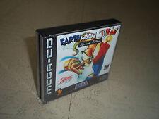 Earthworm Jim S.E.. Sega Mega Cd Pal. remplacement CASE + incrustations uniquement. pas de jeu