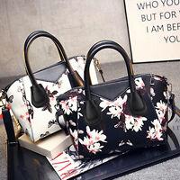 Women's PU Leather Handbag Shoulder Bag Tote Purse Cross Body Messenger Satchel