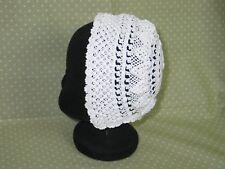 Antique Vintage Baby Doll Bonnet-Handmade Irish Crochet Lace Bonnet- Christening