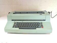 CLASSIC 1970'S IBM SELECTRIC II GREEN ELECTRIC TYPEWRITER ~ PLEASE READ AS-IS n2