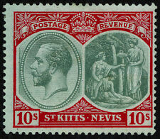 St. Kitts and Nevis George V Era (1910-1936) Stamps