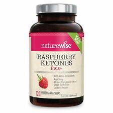 120 NatureWise Raspberry Ketones Plus Advanced Weight Loss Appetite Suppressant