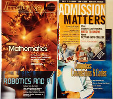 Computers Robotics Math - STEM Students Plan Summer Internships & College (Lot 4