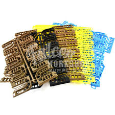 100 MIXED COLOUR PLASTIC PACKING SHIMS WINDOW FRAME PACKER SPACER PAKA-WIDGET