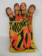 VINTAGE 1966 THE MONKEES TALKING HAND PUPPET- VINTAGE MATTEL TOY PUPPET- RARE