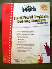 McGraw-Hill My Math Grade 1 Real-World Problem Solving Readers (2013, Teacher)