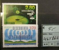 Andorra (franz.) - Mi.-Nr. 455, 466, **