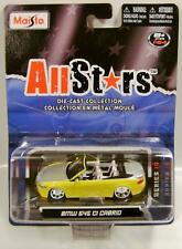 BMW 645 CI CABRIO YELLOW ALL STARS MAISTO DIECAST 2010 RARE