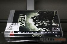 Fallout 3 First Print (PlayStation 3, PS3 2008) Y-FOLD SEALED! - ULTRA RARE!