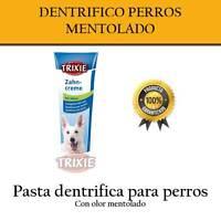 Dentífrico sabor mentolado para Perros y Cachorros dientes perro