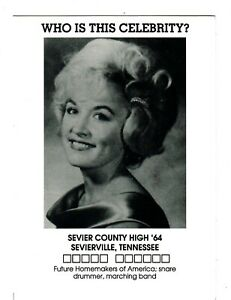 1964 - SEVIER COUNTY HIGH SCHOOL - SEVIERVILLE, TENNESSEE - Who is this lady ?