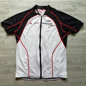Louis Garneau Equipe Cycling Jersey - Full Zip, White 17M