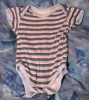 Great boy's vest with Striped design fastening by groin 6-12 months