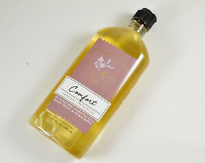 Bath and Body Works Aromatherapy Comfort Vanilla Patchouli Body Wash New 10 oz
