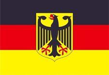 Fahne DEUTSCHLAND ADLER 150 x 90 cm Flagge mit Ösen Flaggen WM EM Fanartikel NEU