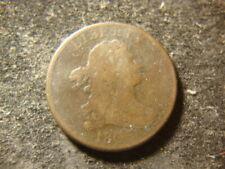 1805 readable date Stems Draped Bust Half Cent ALDZ