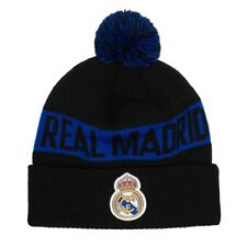 REAL MADRID POM KNIT BEANIE OFFICIALLY LICENSED Fi COLLECTION FREE SHIPPING