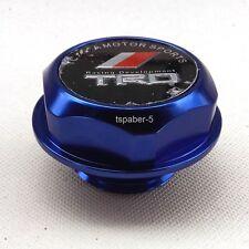 Blue TRD Emlem Engine Oil Filler Cap Made Of Aluminum Billet