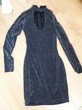 Womens Bodycon Sparkly Dress Size S
