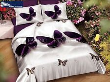 BUTTERFLY King Size Bed Duvet/Doona/Quilt Cover Set Brand New M230