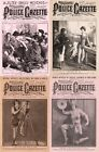 28 OLD ISSUES OF NATIONAL POLICE GAZETTE SPORT LIFESTYLE CULTURE MAGAZINE ON DVD