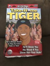 Take Home Tiger love doll gag gift golf collectable