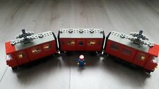 Lego 12V Volt Train Set 7725 Red Electric Passenger Train from 1981