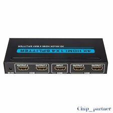 4 Ports HDMI Switch Splitter 1 to 4/1 in 4 out HD 4K*2K Display Screen Splitter