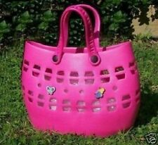 GIRLS HOT PINK BEACH PARTY BAG *2 Free Charms*