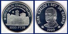2000 SILVER PESETAS SPAIN / PLATA ESPAÑA. 1999. AÑO SANTO JACOBEO. PROOF.
