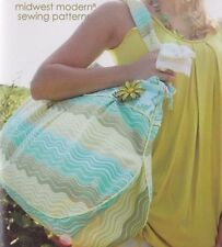 Amy Butler Midwest Modern Field Bag and Tote Sewing Pattern. New.