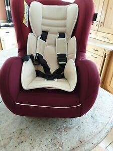 Mothercare madrid baby car seat forward & rear facing, birth to 4 yrs